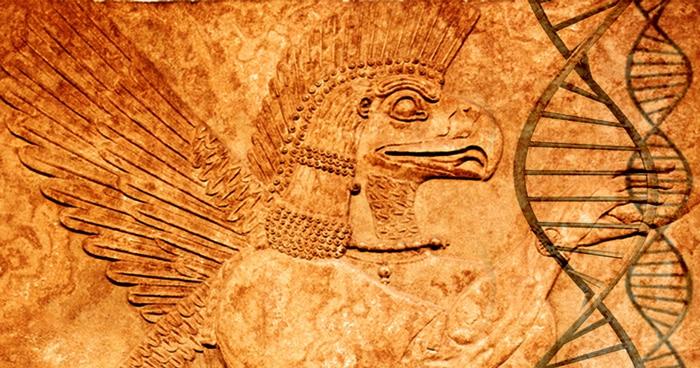 RH Negative Sumerian Aliens